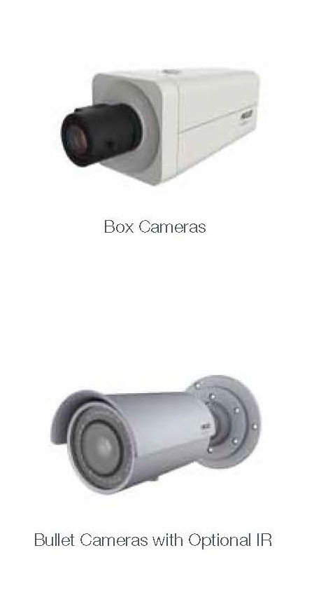 Cctv Pelco Bullet cameras with optionalIR